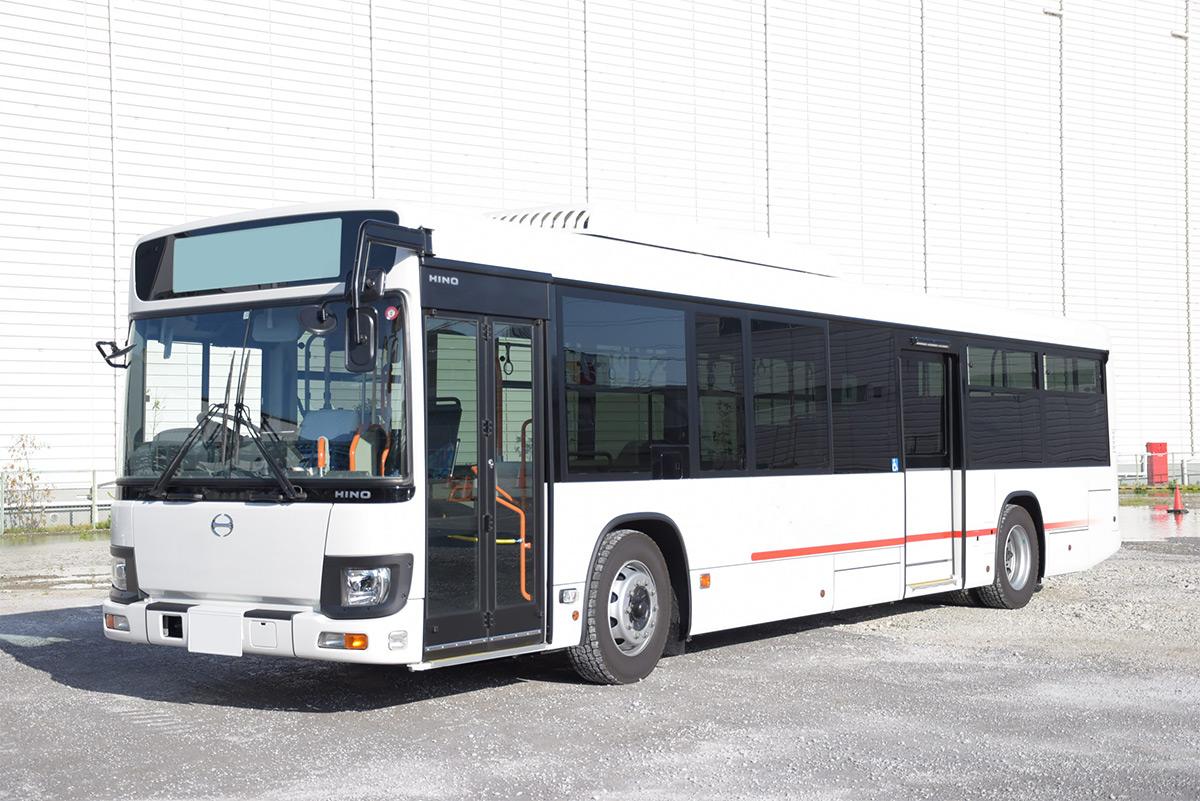 食肉加工工場 従業員送迎 大型バス:実績